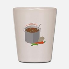Soup Of Day Shot Glass