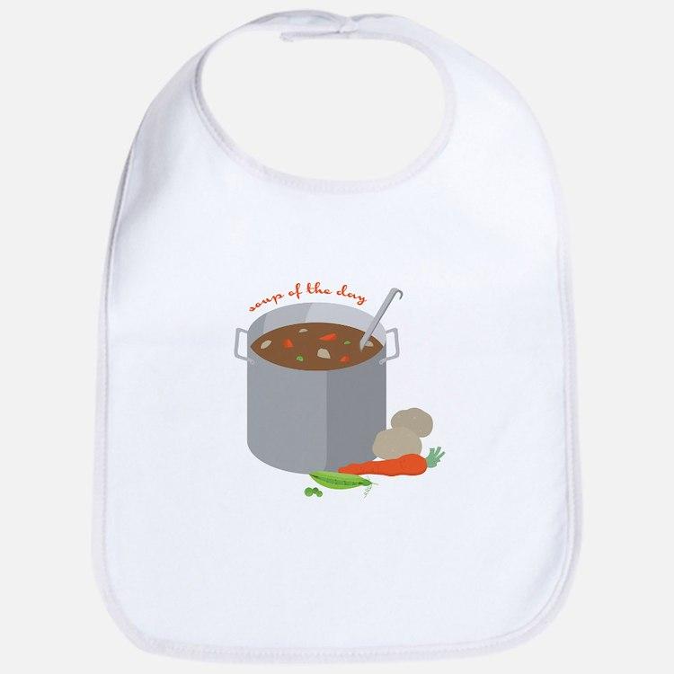 Soup Of Day Bib