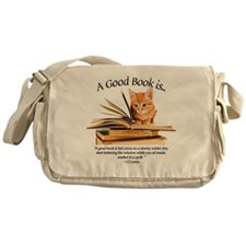 a good book is... Messenger Bag