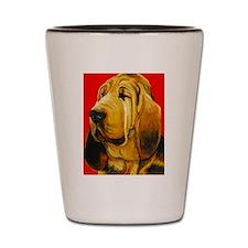 Unique Dog art Shot Glass