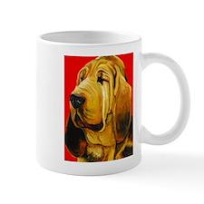 Unique Bloodhound dog Mug