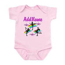 SKATING QUEEN Infant Bodysuit
