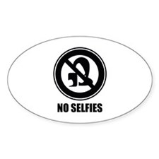 No Selfies Decal