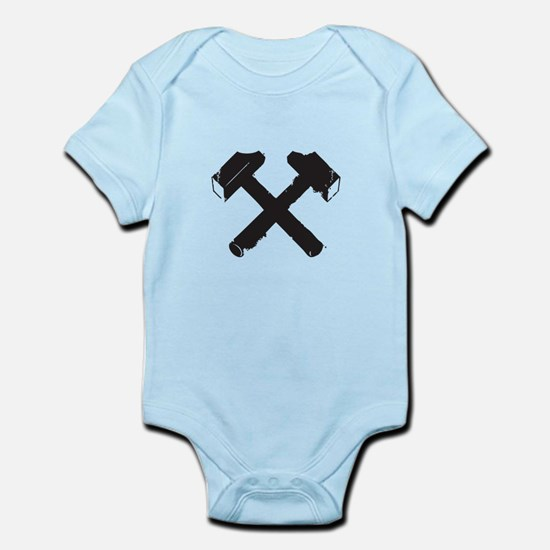 Crossed Hammers Body Suit