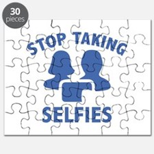 Stop Taking Selfies Puzzle