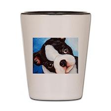 Unique Pets boston terriers Shot Glass
