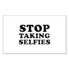 Stop Taking Selfies Decal