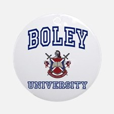BOLEY University Ornament (Round)