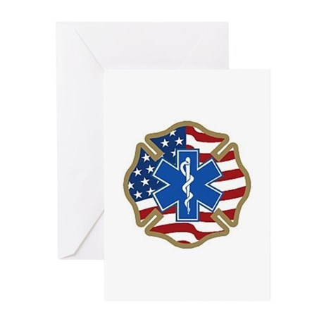American Medic Greeting Cards (Pk of 10)