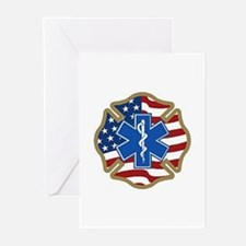 American Medic Greeting Cards (Pk of 10)