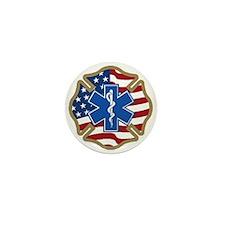 American Medic Mini Button