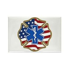 American Medic Rectangle Magnet