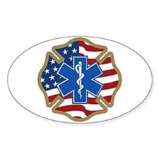 American Medic Oval Decal