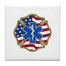 American Medic Tile Coaster