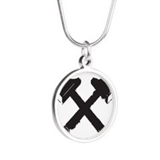 Crossed Hammers Necklaces
