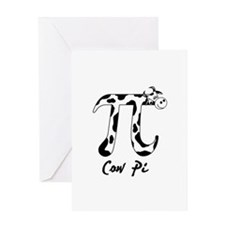 cow-pi-teddybear Greeting Cards