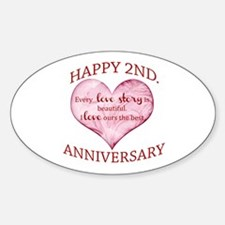 2nd. Anniversary Decal