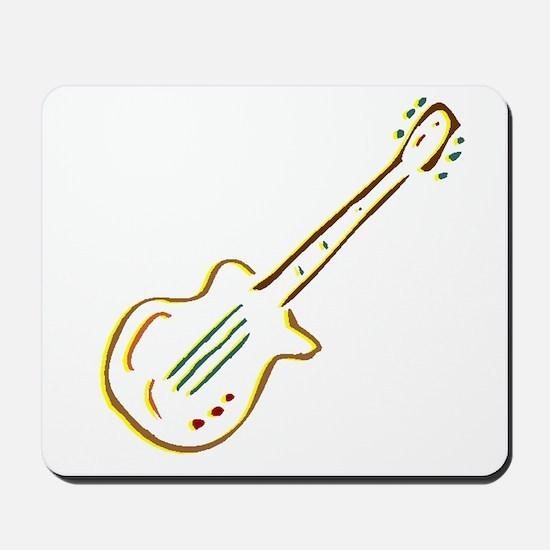 Electric Guitar Mousepad