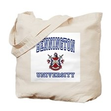 BENNINGTON University Tote Bag