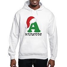 Christmas Personalized Santa Hat Hoodie