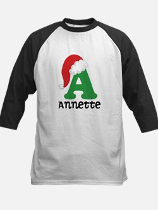 Christmas Personalized Santa Hat Baseball Jersey