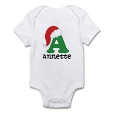 Christmas Personalized Santa Hat Body Suit