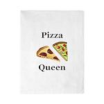 Pizza Queen Twin Duvet