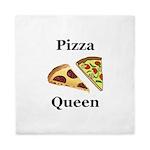 Pizza Queen Queen Duvet