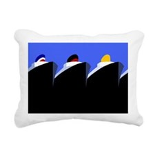 Vintage Cruise Ships Poster Ocean Liners Rectangul