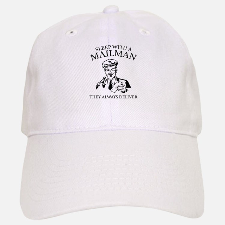 Sleep With A Mailman Baseball Baseball Cap
