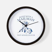 Sleep With A Mailman Wall Clock