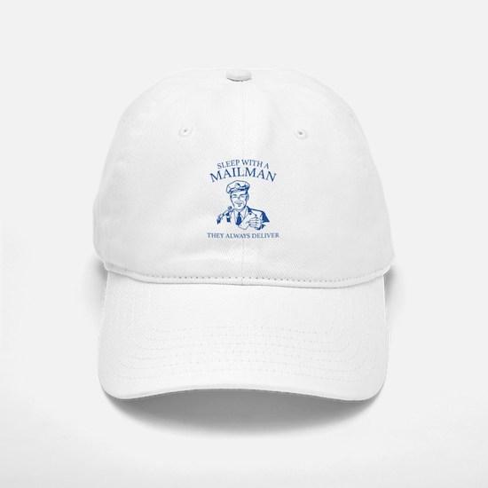 Sleep With A Mailman Baseball Baseball Cap