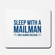 Sleep With A Mailman Mousepad