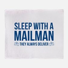 Sleep With A Mailman Stadium Blanket