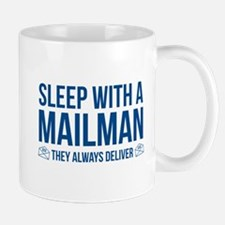 Sleep With A Mailman Mug