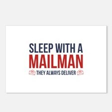 Sleep With A Mailman Postcards (Package of 8)