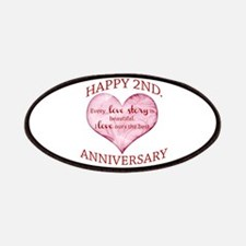 2nd. Anniversary Patches