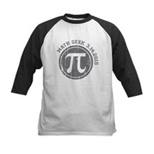Math Geek Pi Day 2015 Baseball Jersey