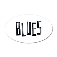 Blues Wall Decal