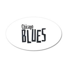 Chicago Blues Wall Decal