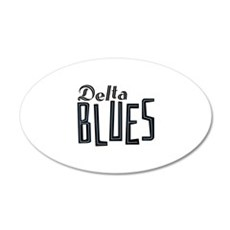 Delta Blues Wall Decal
