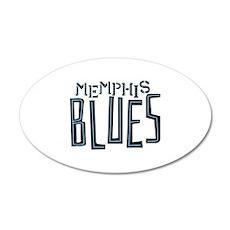 Memphis Blues Wall Decal