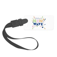 Devoted to New Wave Luggage Tag
