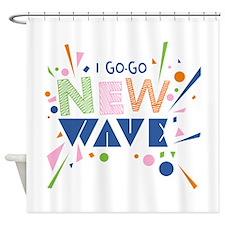 Go-Go New Wave Shower Curtain