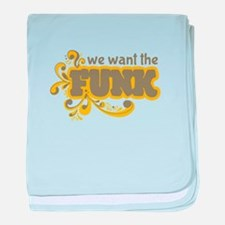 Want the Funk baby blanket