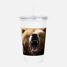 grizzly bear Acrylic Double-wall Tumbler