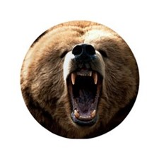 "grizzly bear 3.5"" Button"