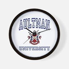 AULTMAN University Wall Clock