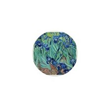 Iris, Vincent van Gogh. Vint Mini Button (10 pack)