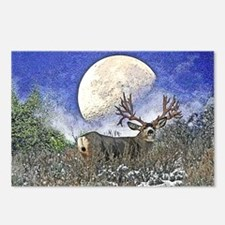 Trophy mule deer buck Postcards (Package of 8)